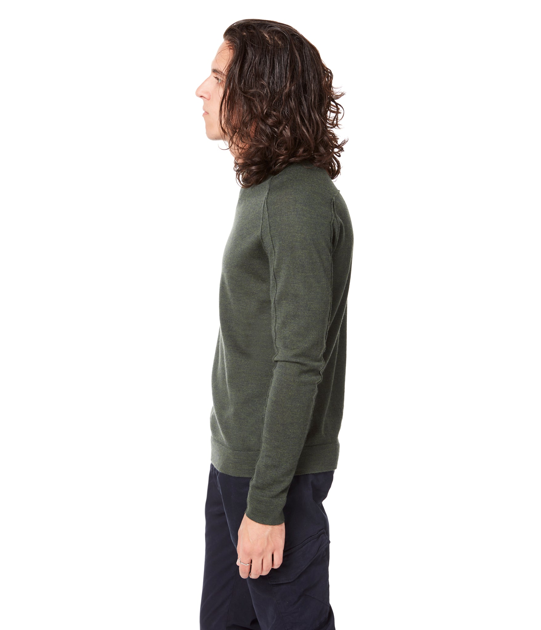 MVP V-Notch Sweater - Garden