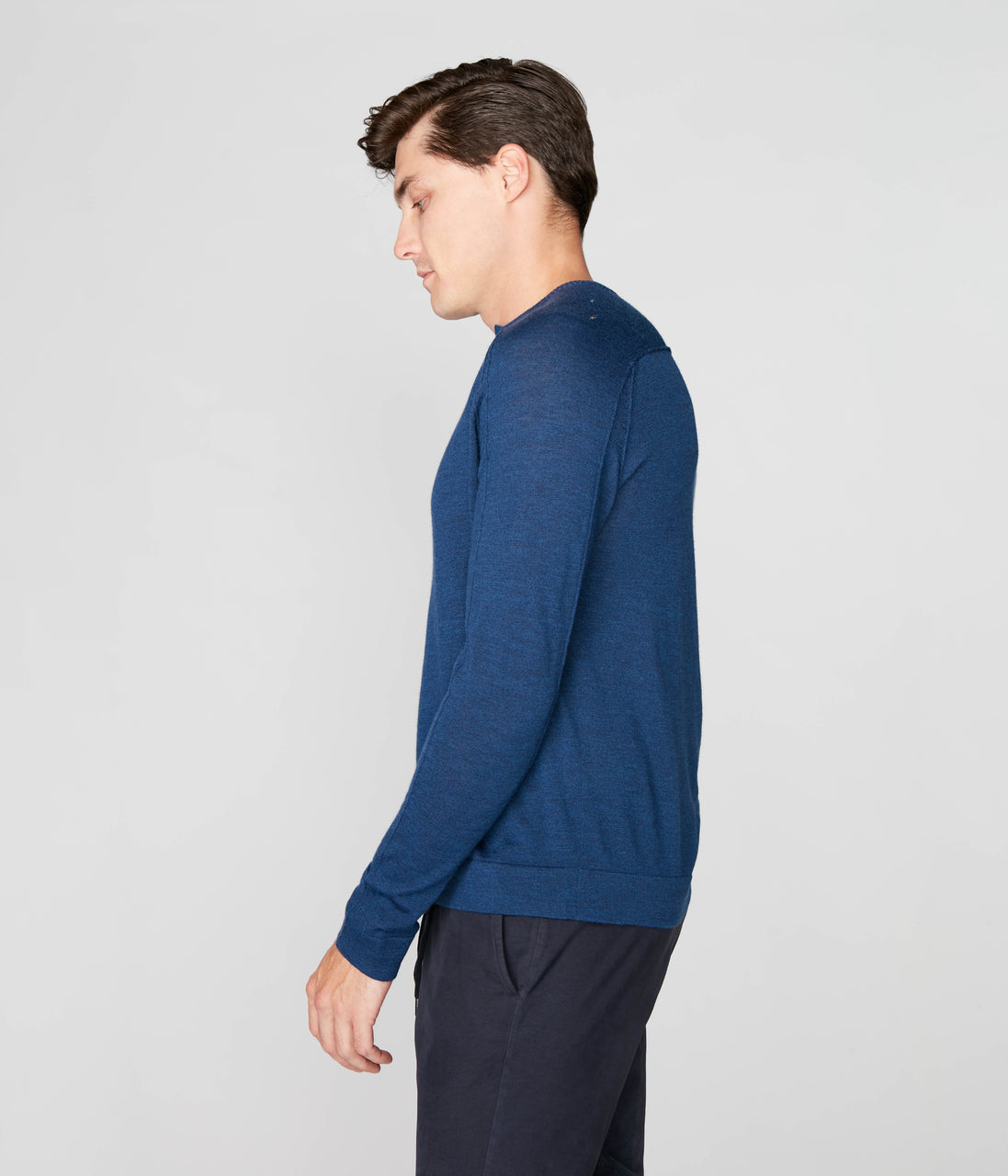 MVP V-Notch Sweater - Indigo - Good Man Brand - MVP V-Notch Sweater - Indigo
