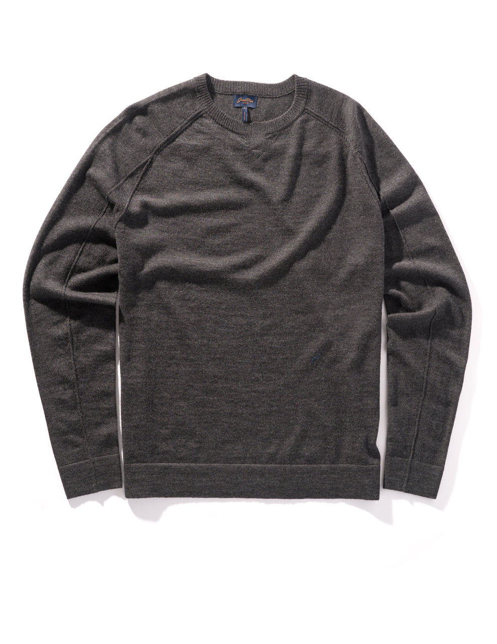 MVP V-Notch Sweater - Charcoal Heather - Good Man Brand - MVP V-Notch Sweater - Charcoal Heather