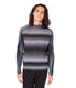 MVP V-Notch Spacedye Sweater - Black