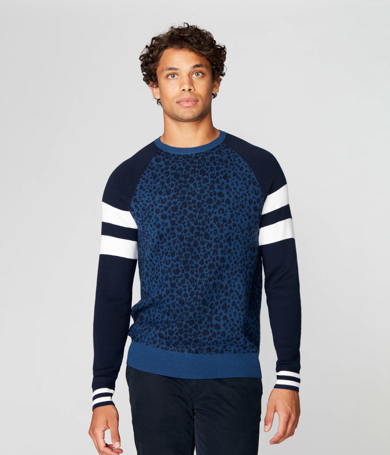 Game Day Sweater in Extrafine Merino Wool - Good Man Brand