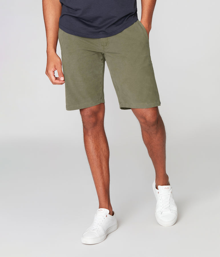 Tulum Trunk in Flex Pro Jersey - Military Green - Good Man Brand
