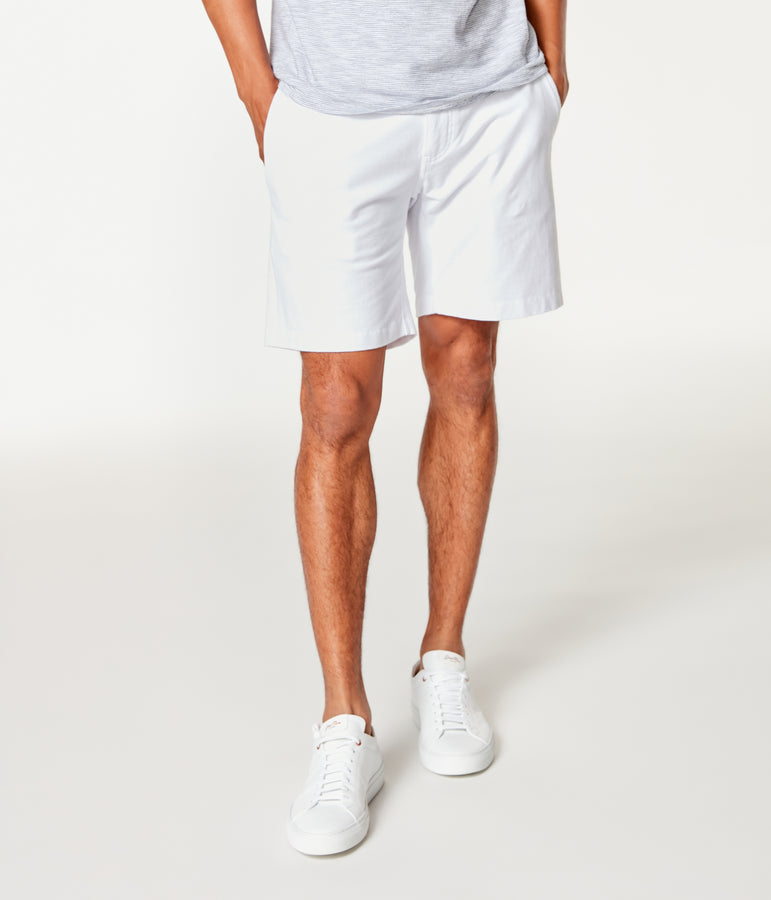 Tulum Trunk in Flex Pro Jersey - White - Good Man Brand