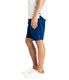 Wrap Diamond Dash Stretch Twill Short - Indigo