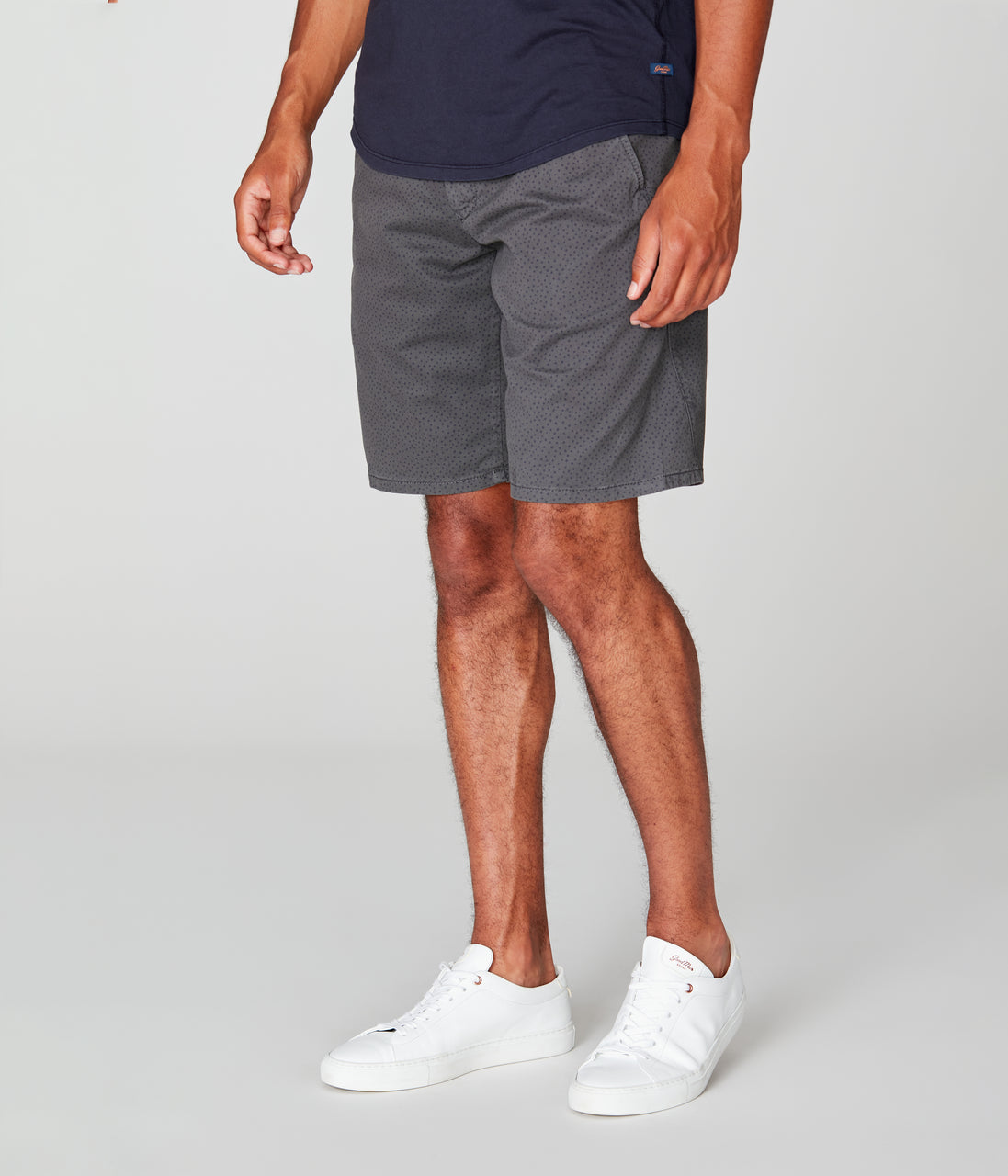 Monaco Stretch Twill Wrap Short - Magnet - Good Man Brand - Monaco Stretch Twill Wrap Short - Magnet