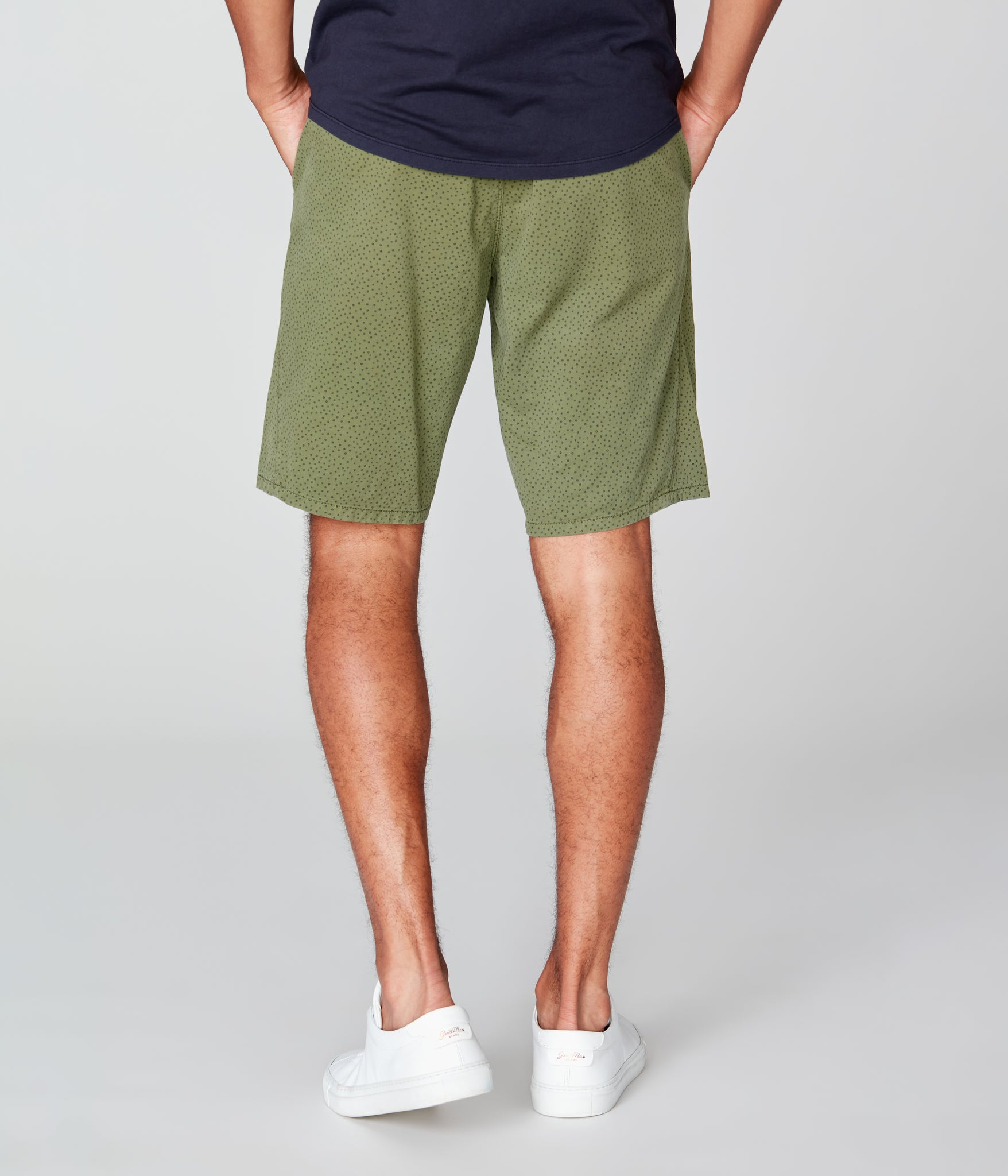 Monaco Stretch Twill Wrap Short - Palm