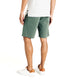 Monaco Diamond Stripe Stretch Twill Wrap Short - Rifle Green