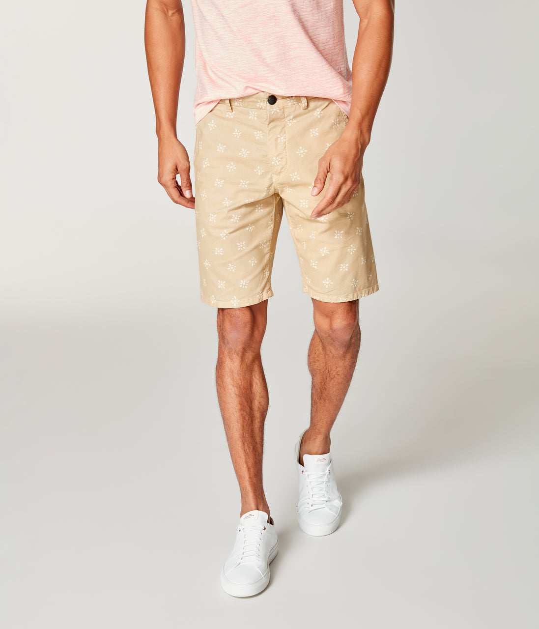 Monaco Stretch Twill Floral Wrap Short - Baja - Good Man Brand - Monaco Stretch Twill Floral Wrap Short - Baja