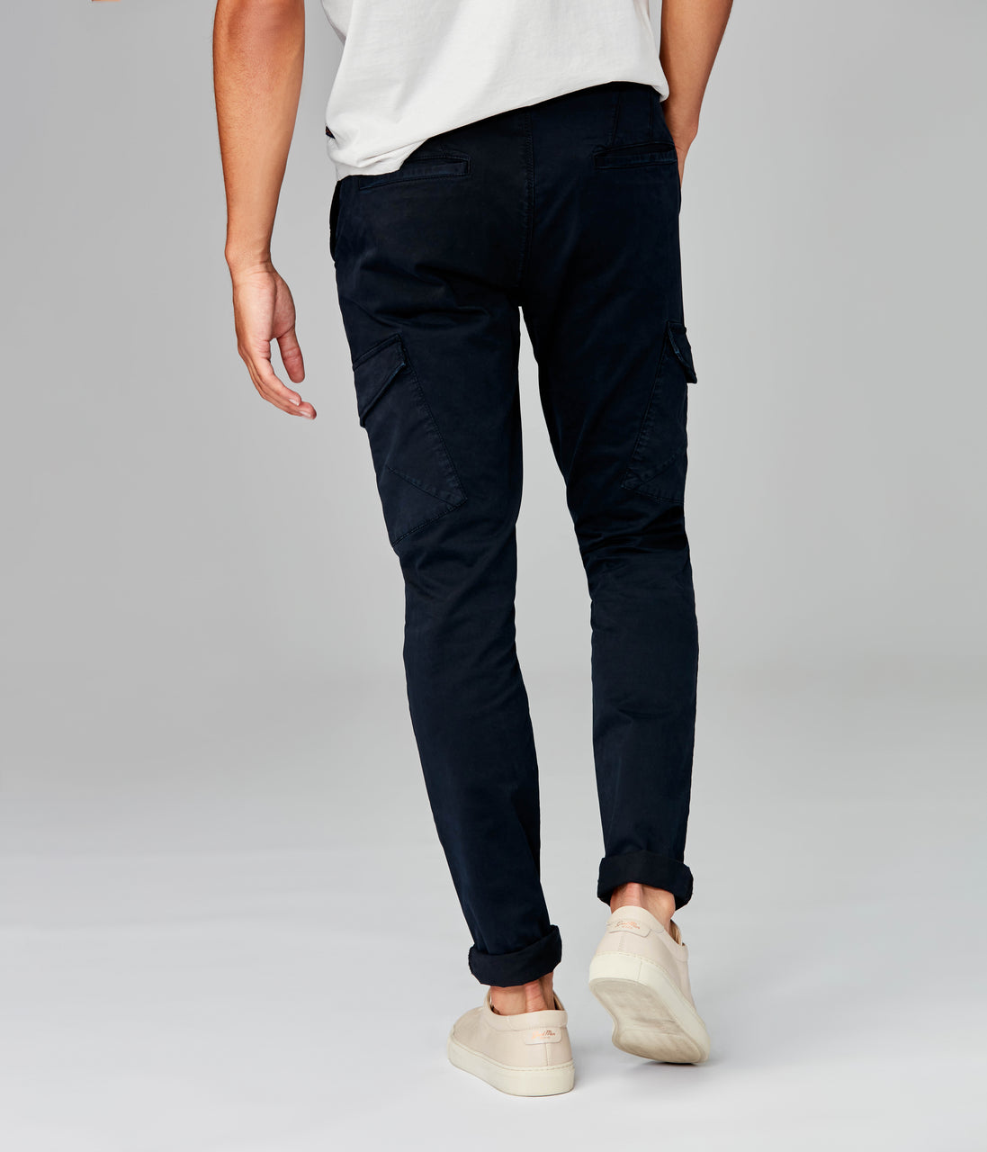Pro Stretch Twill Star Cargo Chino - Black Navy - Good Man Brand - Pro Stretch Twill Star Cargo Chino - Black Navy
