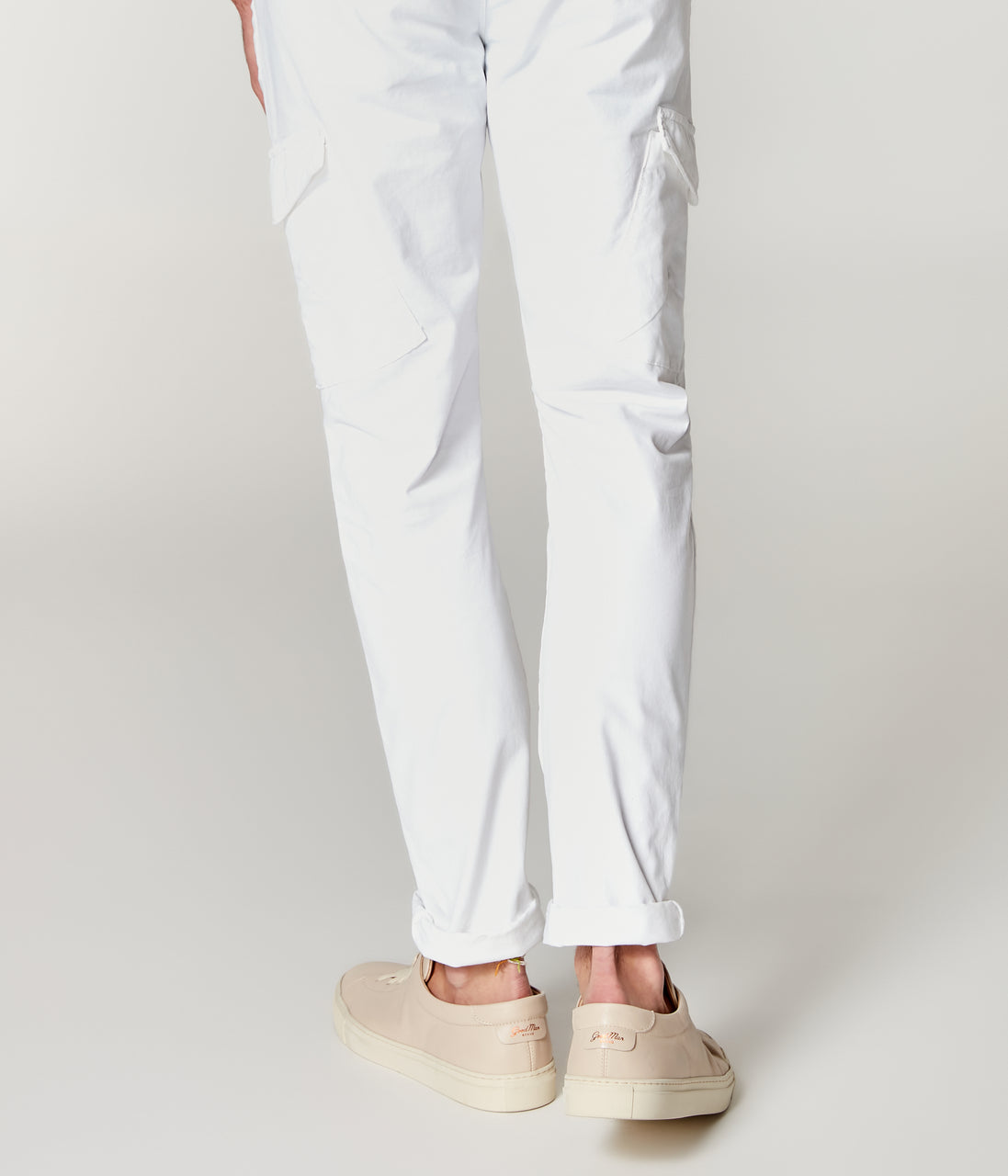Pro Stretch Twill Star Chino Cargo - Bright White - Good Man Brand - Pro Stretch Twill Star Chino Cargo - Bright White