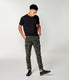 Pro Stretch Twill Star Chino Camo Cargo - Military Green