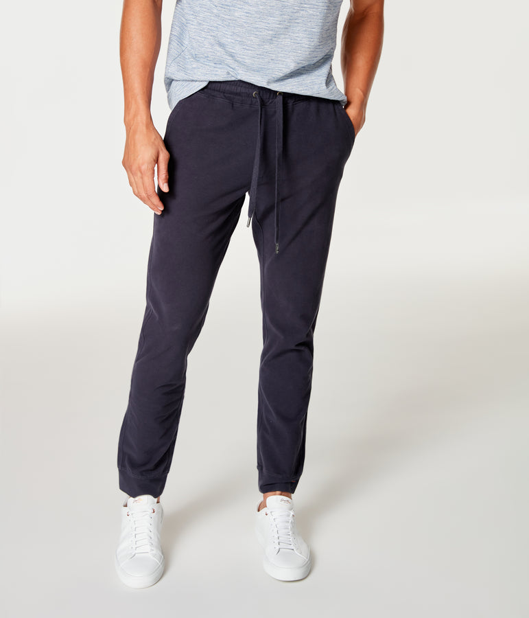 Jetset Jogger in Flex Pro Jersey - Sky Captain - Good Man Brand
