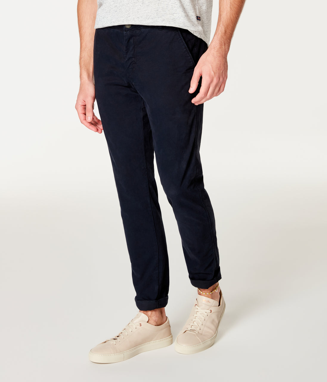 Pro Stretch Twill Star Chino - Black Navy - Good Man Brand - Pro Stretch Twill Star Chino - Black Navy