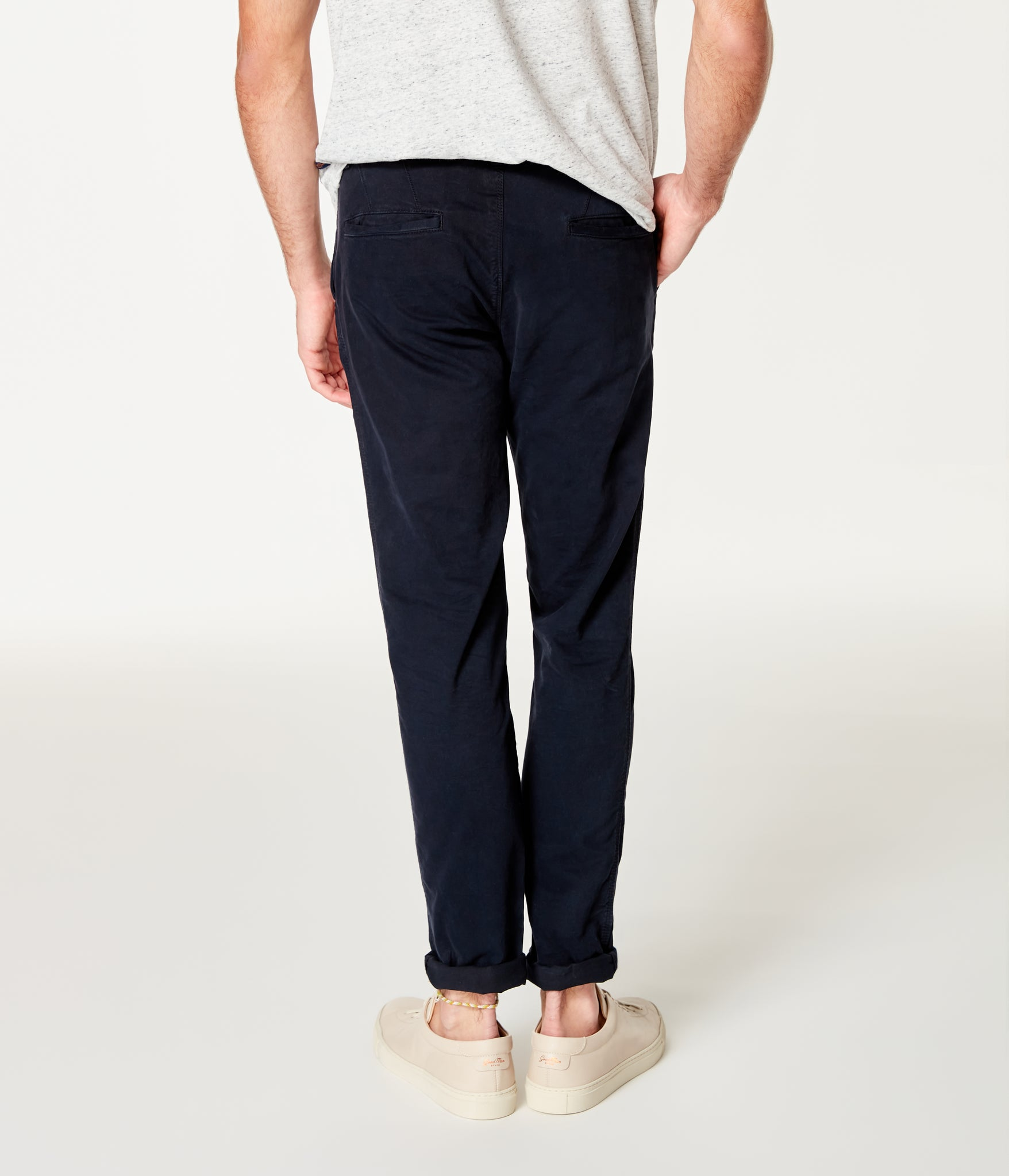 Pro Stretch Twill Star Chino - Black Navy