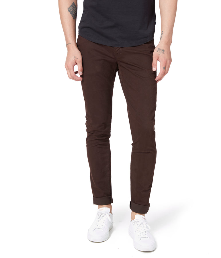 Pro Stretch Twill Star Chino - Black Coffee - Good Man Brand