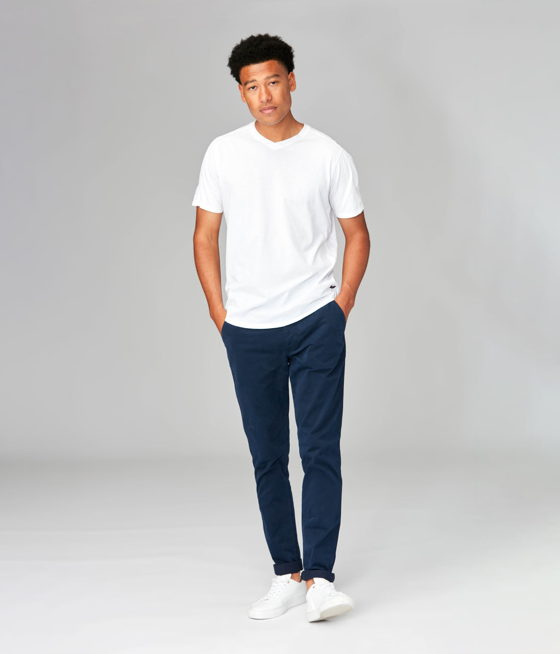 Pro Stretch Twill Star Chino - Indigo - Good Man Brand - Pro Stretch Twill Star Chino - Indigo