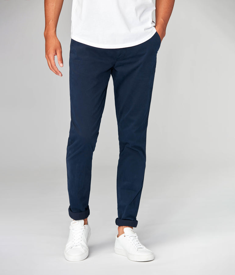 Pro Stretch Twill Star Chino - Indigo - Good Man Brand