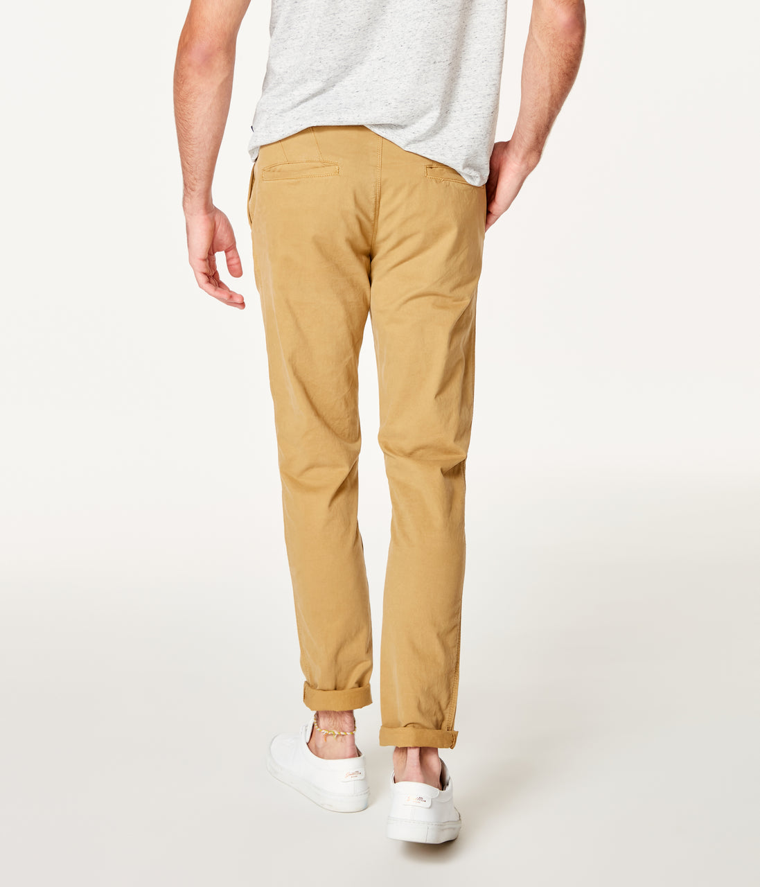Star Chino in Pro Stretch Twill - Khaki - Good Man Brand - Pro Stretch Twill Star Chino - Khaki