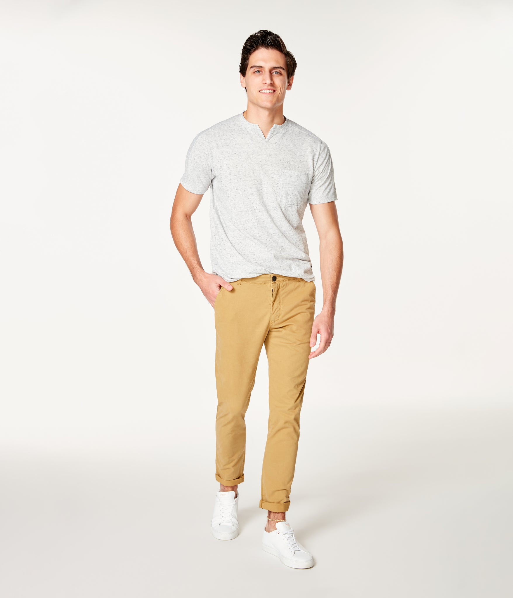 Pro Stretch Twill Star Chino - Khaki