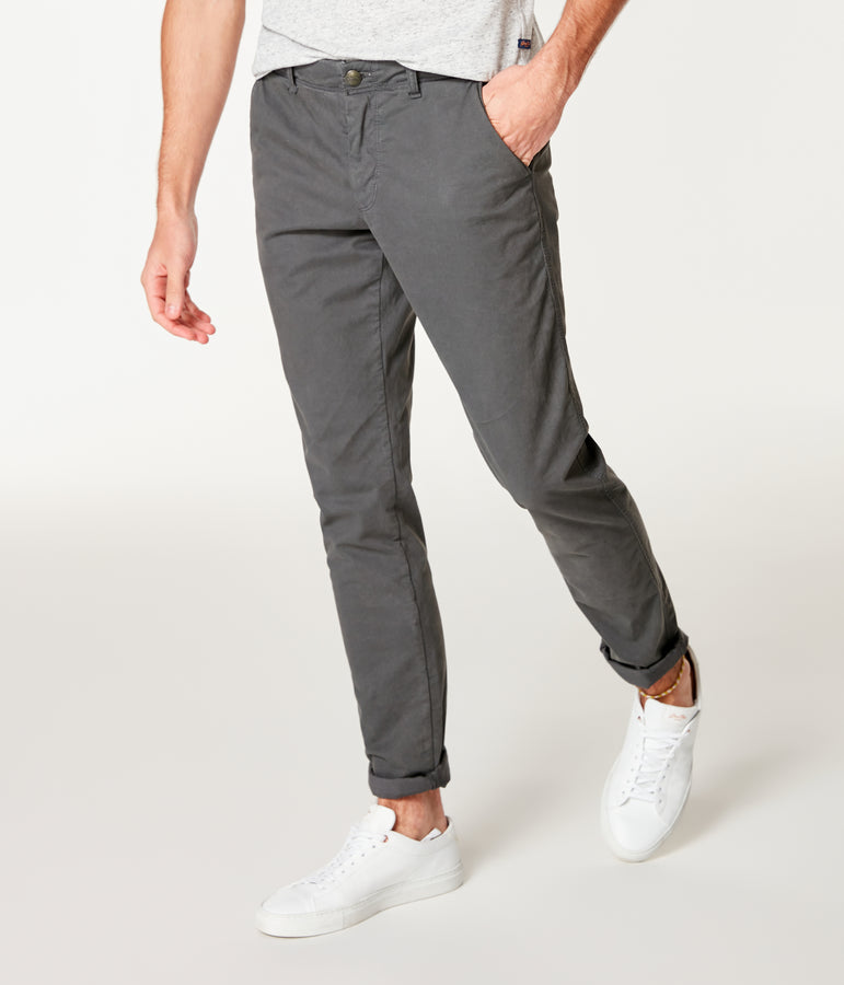 Pro Stretch Twill Star Chino - Magnet - Good Man Brand
