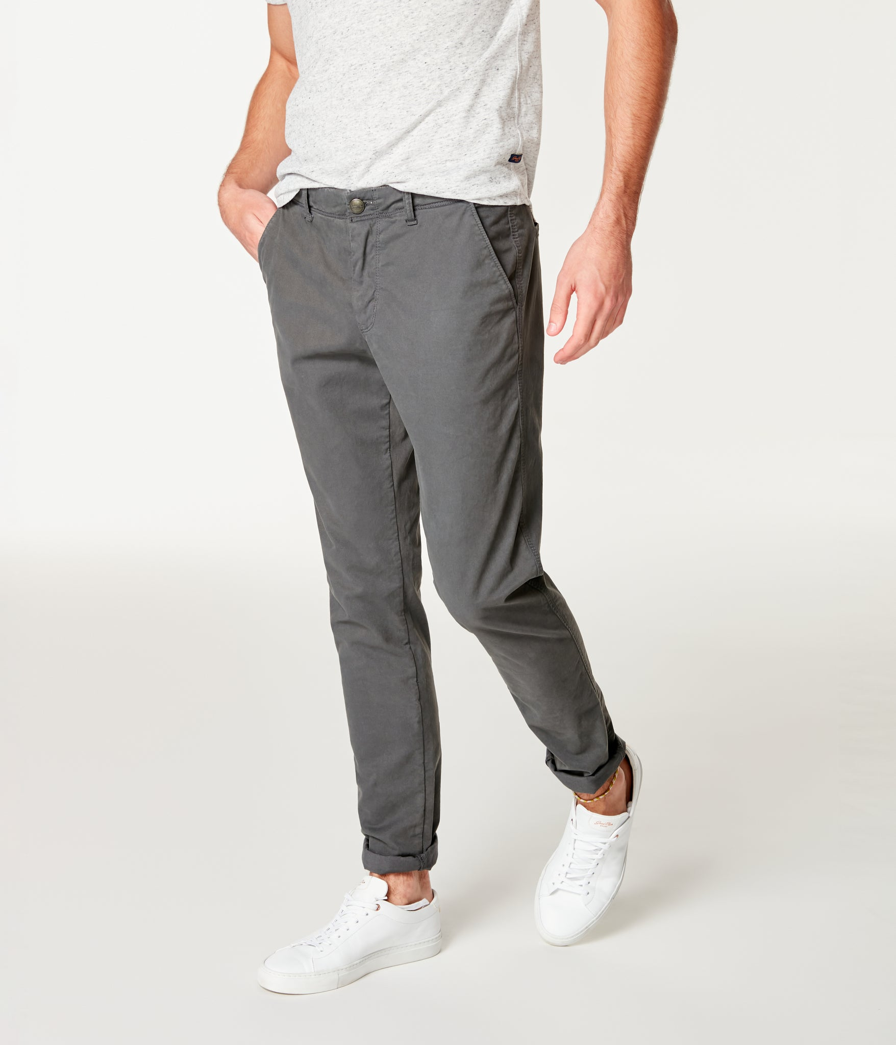 Pro Stretch Twill Star Chino - Magnet
