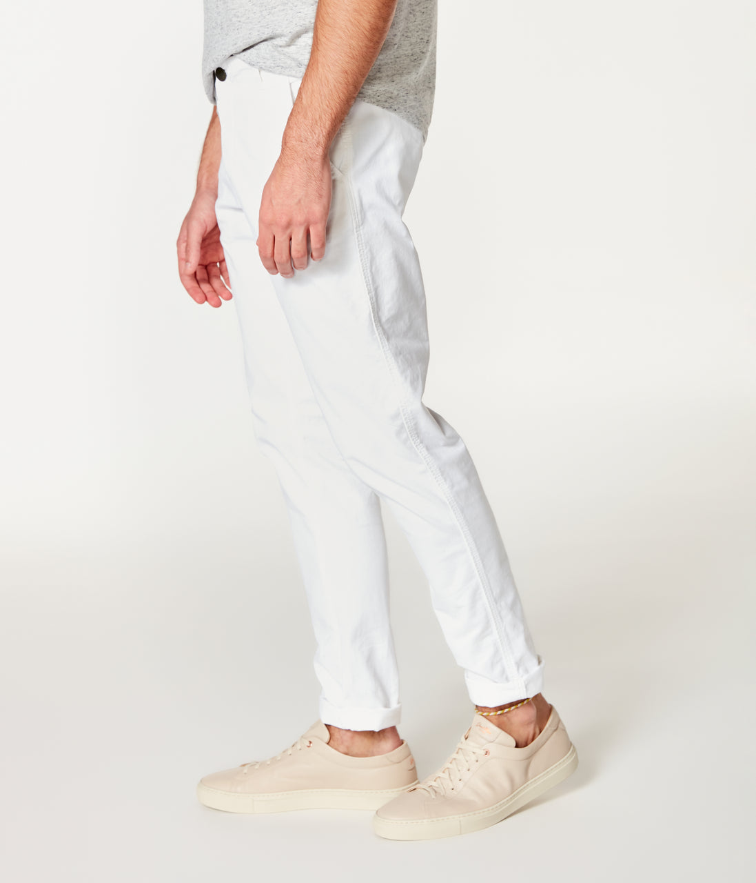 Pro Stretch Twill Star Chino - White - Good Man Brand - Pro Stretch Twill Star Chino - White