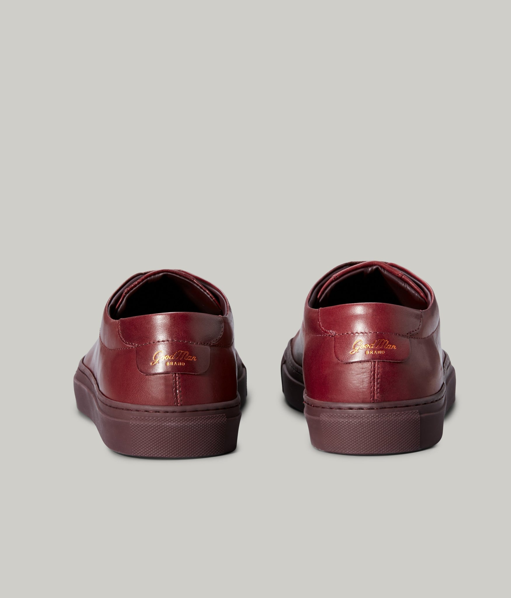 Edge Lo-Top Sneaker - Burgundy