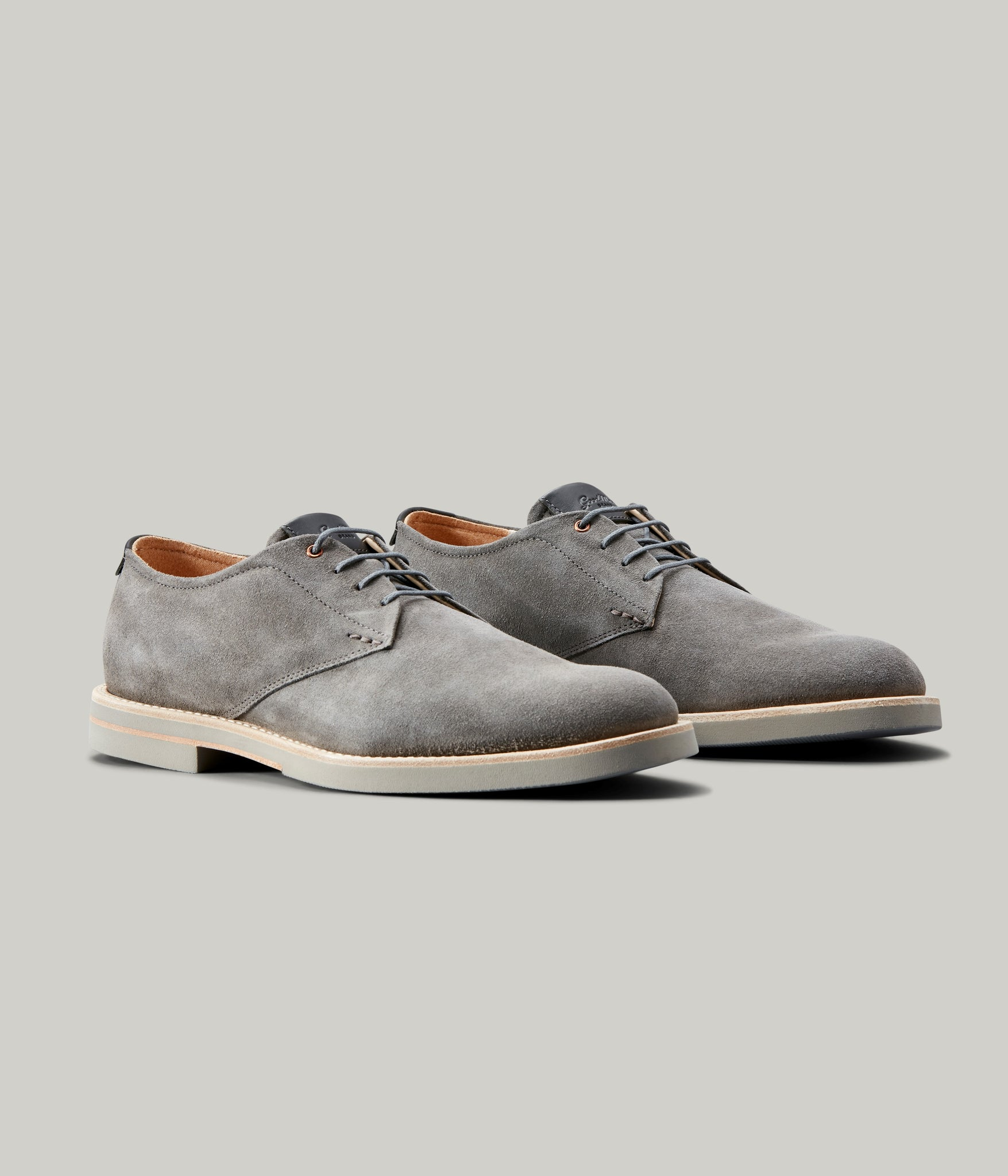Modern Derby Shoe - Grey