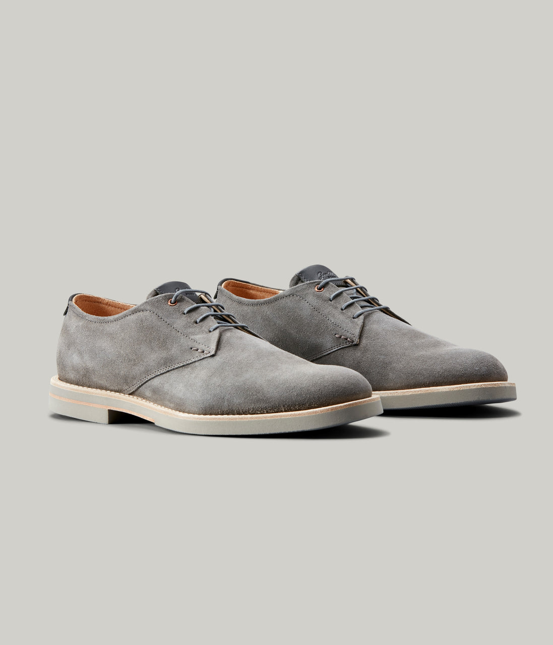 Modern Derby Shoe - Grey - Good Man Brand - Modern Derby Shoe - Grey