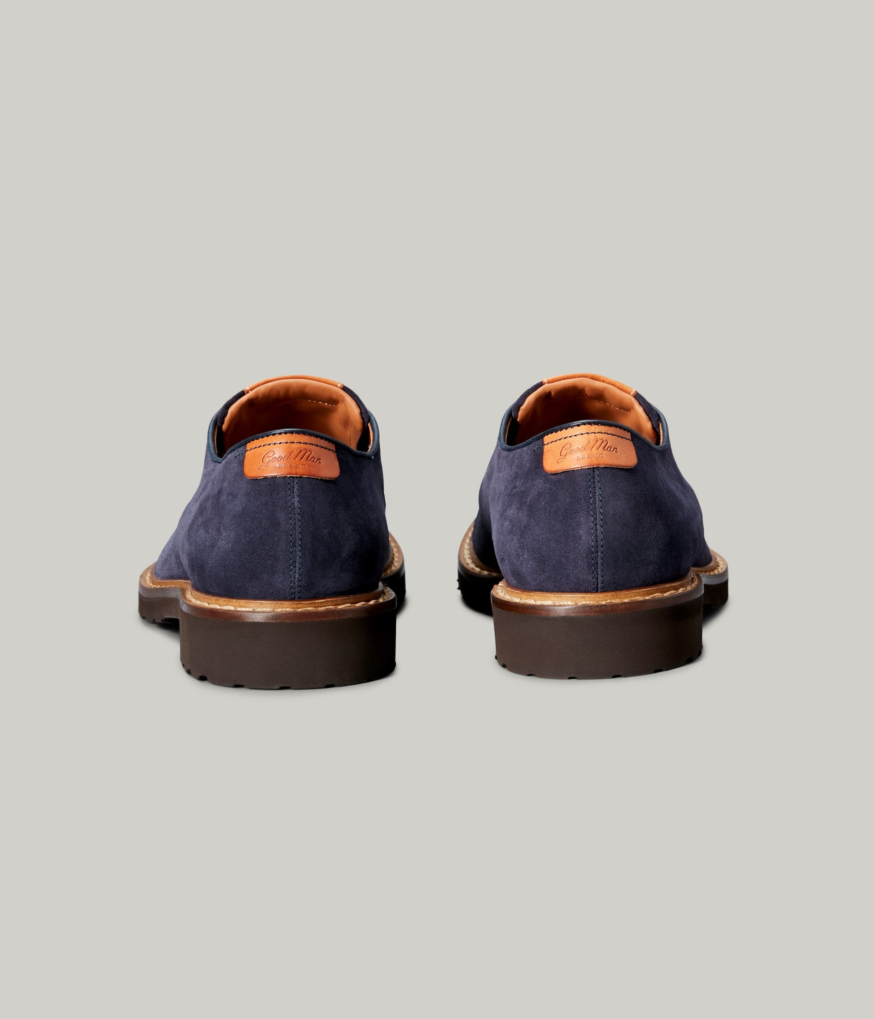 Derby Shoe - Navy