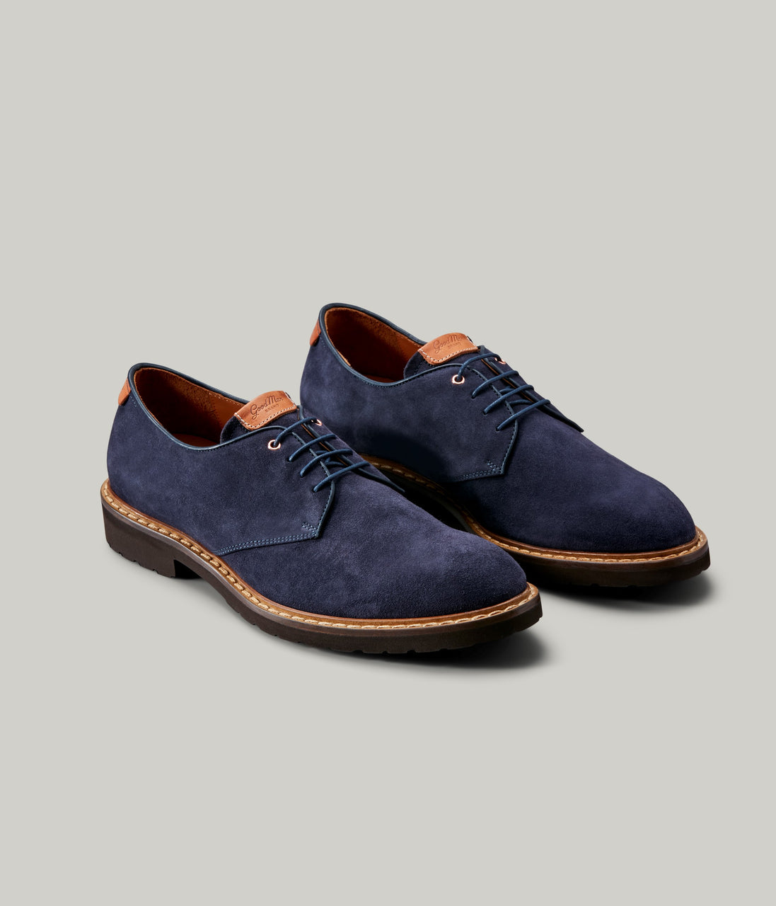 Derby Shoe - Navy - Good Man Brand - Derby Shoe - Navy