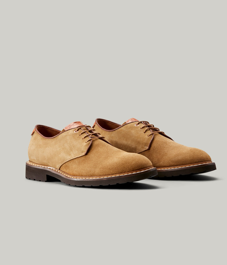Derby Shoe - Cuoio - Good Man Brand