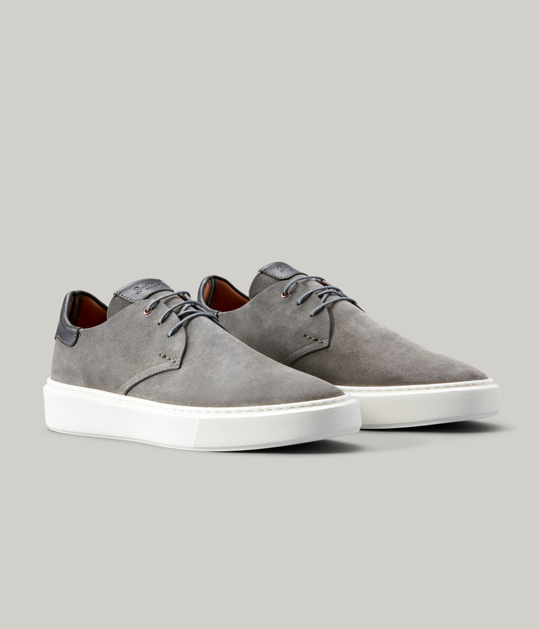 Modern Hybrid Derby Shoe - Grey