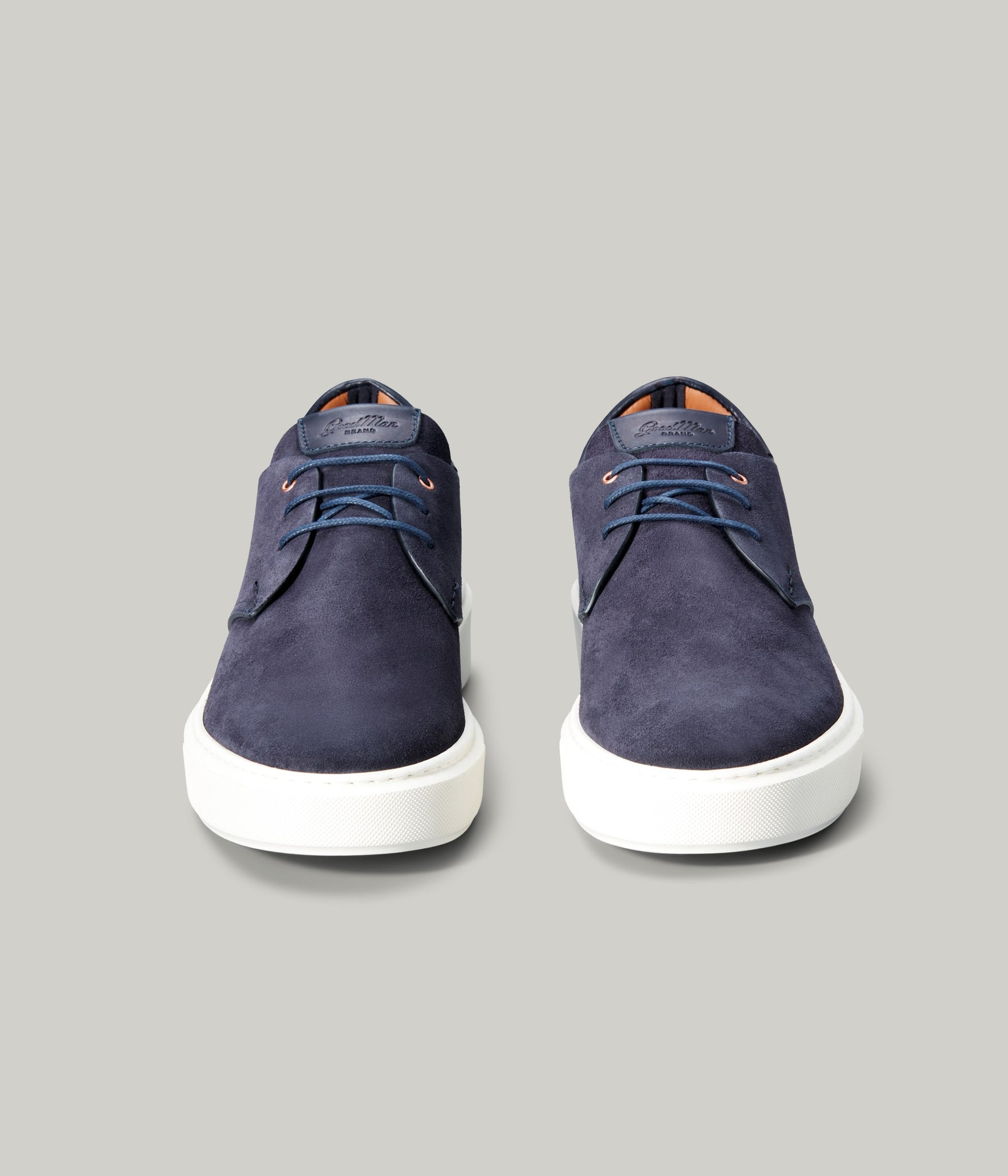 Modern Hybrid Derby Shoe - Navy