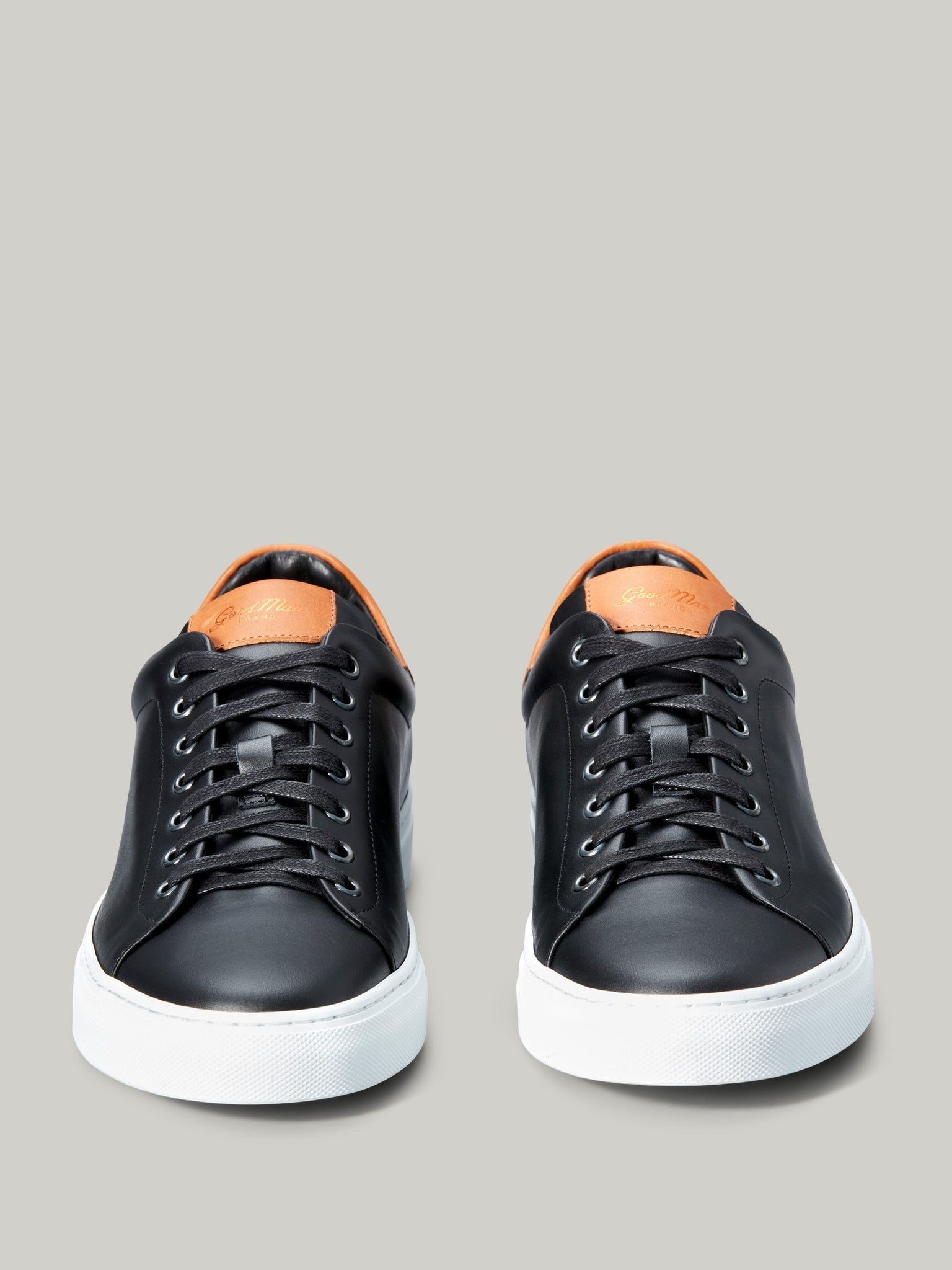 Legend Lo Top Sneaker - Black / Vachetta