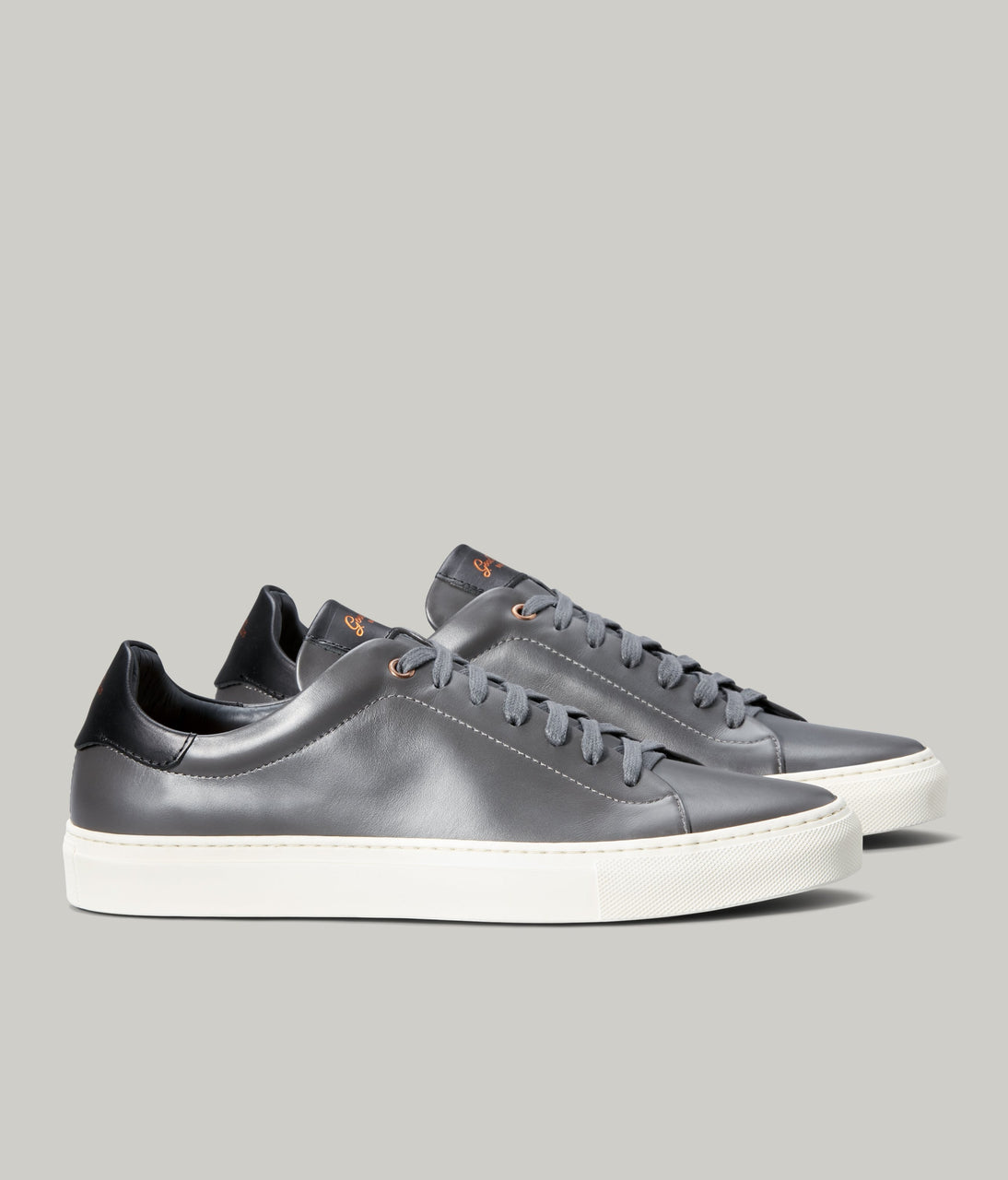 Legend Lo Top Sneaker - Charcoal / Black - Good Man Brand - Legend Lo Top Sneaker - Charcoal / Black