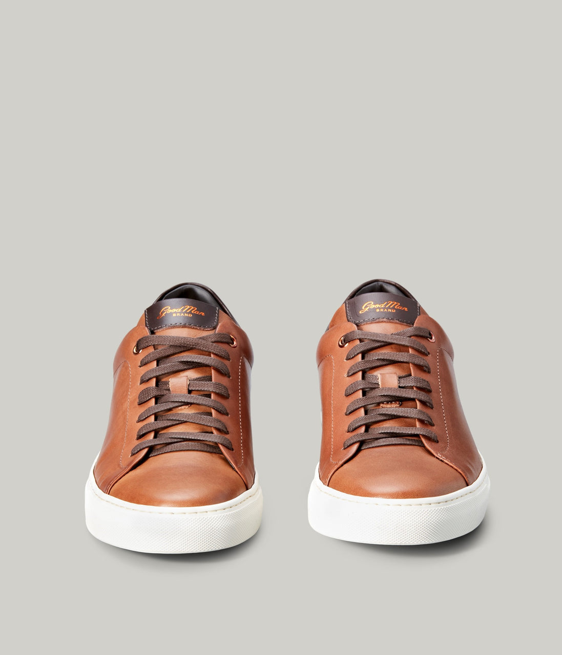 Legend Lo Top Sneaker - Dark Vachetta - Good Man Brand - Legend Lo Top Sneaker - Dark Vachetta