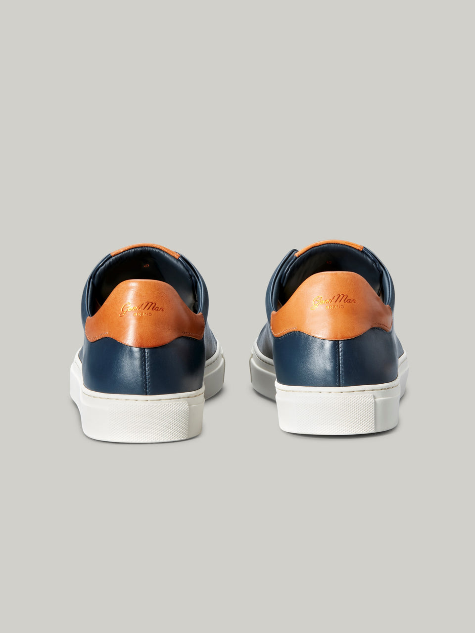 Legend Lo Top Sneaker - Navy / Vachetta - Good Man Brand - Legend Lo Top Sneaker - Navy / Vachetta