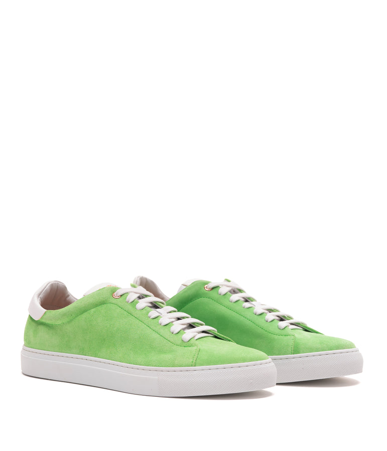 Legend Lo Top Premium Sneaker - Neon Green - Good Man Brand