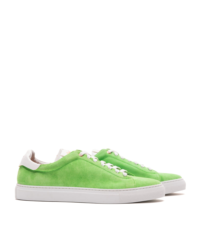 Legend Lo Top Premium Sneaker - Neon Green - Good Man Brand - Legend Lo Top Premium Sneaker - Neon Green