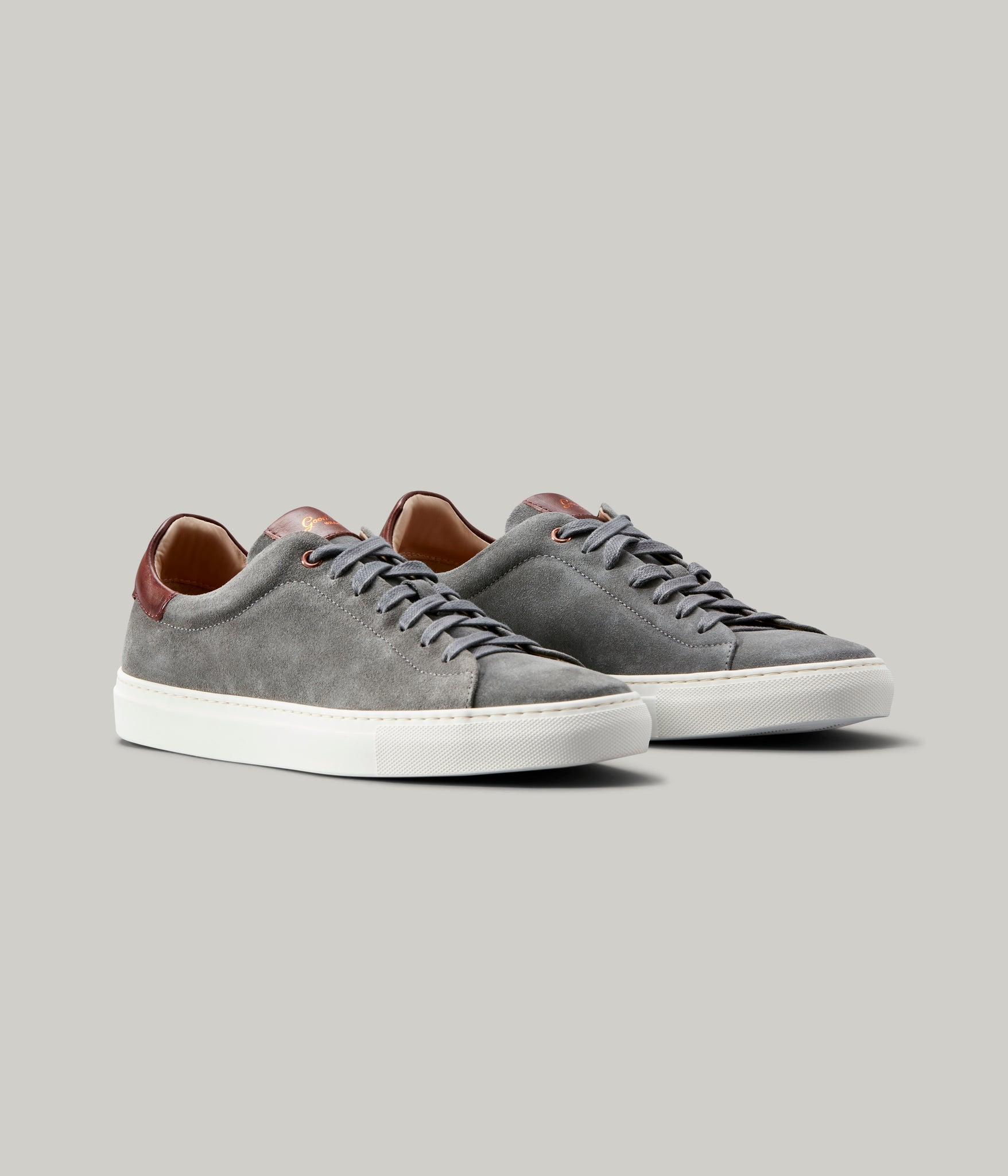 Legend Lo-Top Sneaker - Grey / Vachetta
