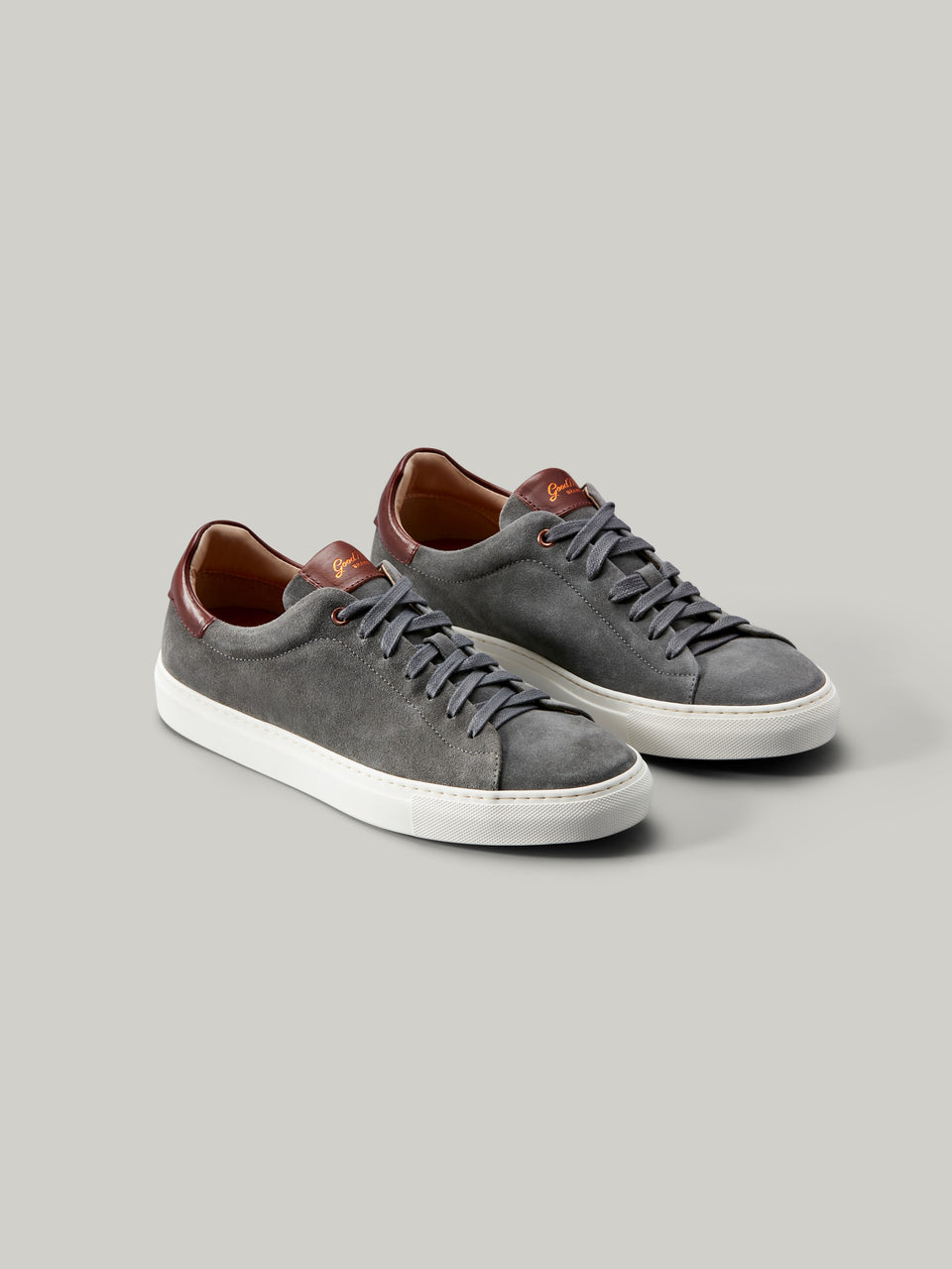 Legend Lo-Top Sneaker - Grey / Vachetta - Good Man Brand - Legend Lo-Top Sneaker - Grey / Vachetta