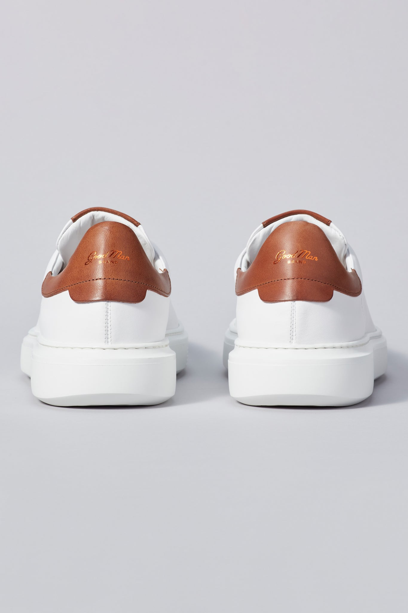 Legend London Classic Sneaker - White / Dark Vachetta