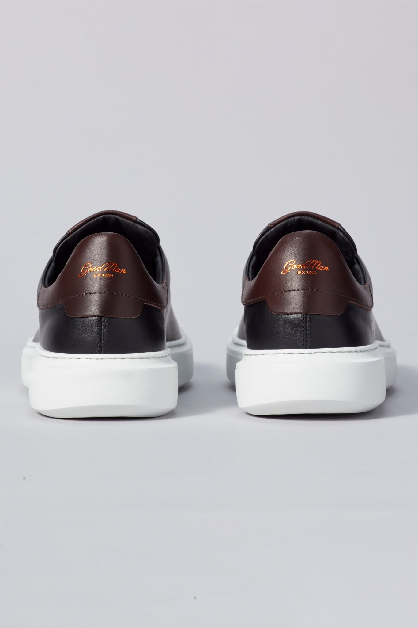 Legend London Classic Sneaker - Black / Dark Vachetta