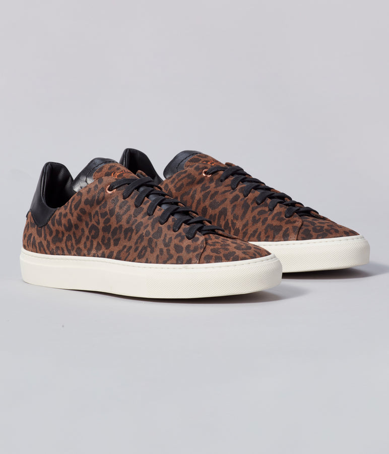 Legend Z Leopard Sneaker - Dark Leopard / Black - Good Man Brand