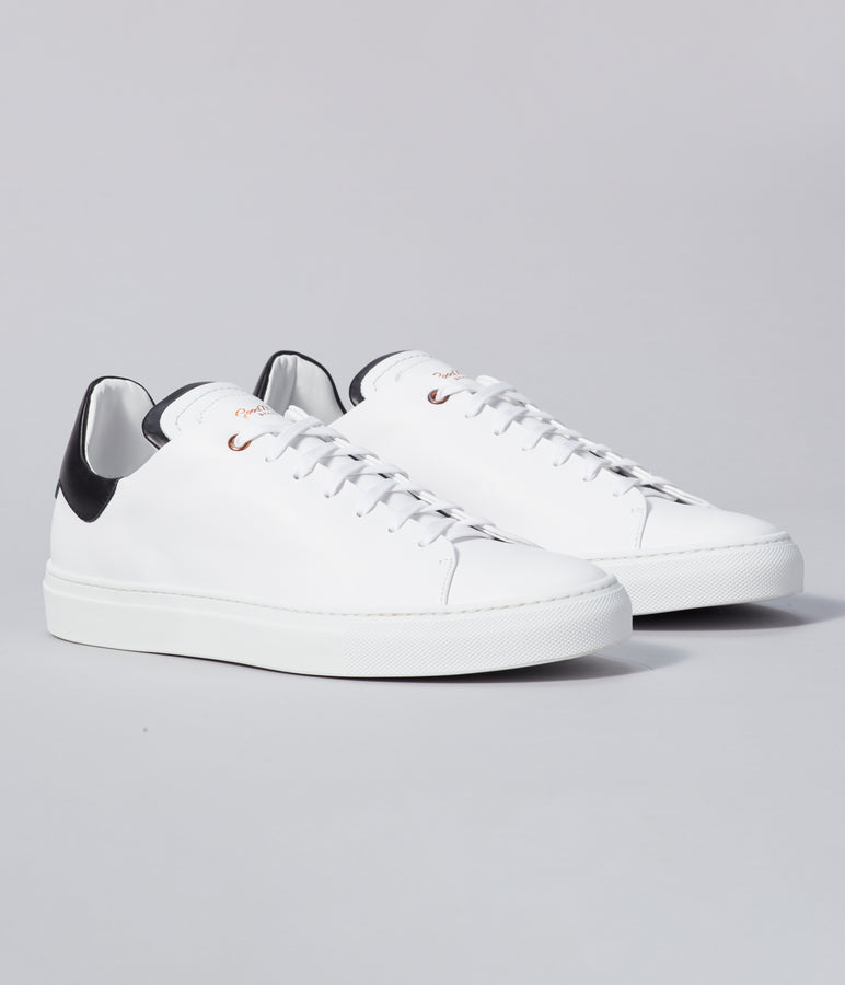 Legend Z Sneaker - White / Black - Good Man Brand