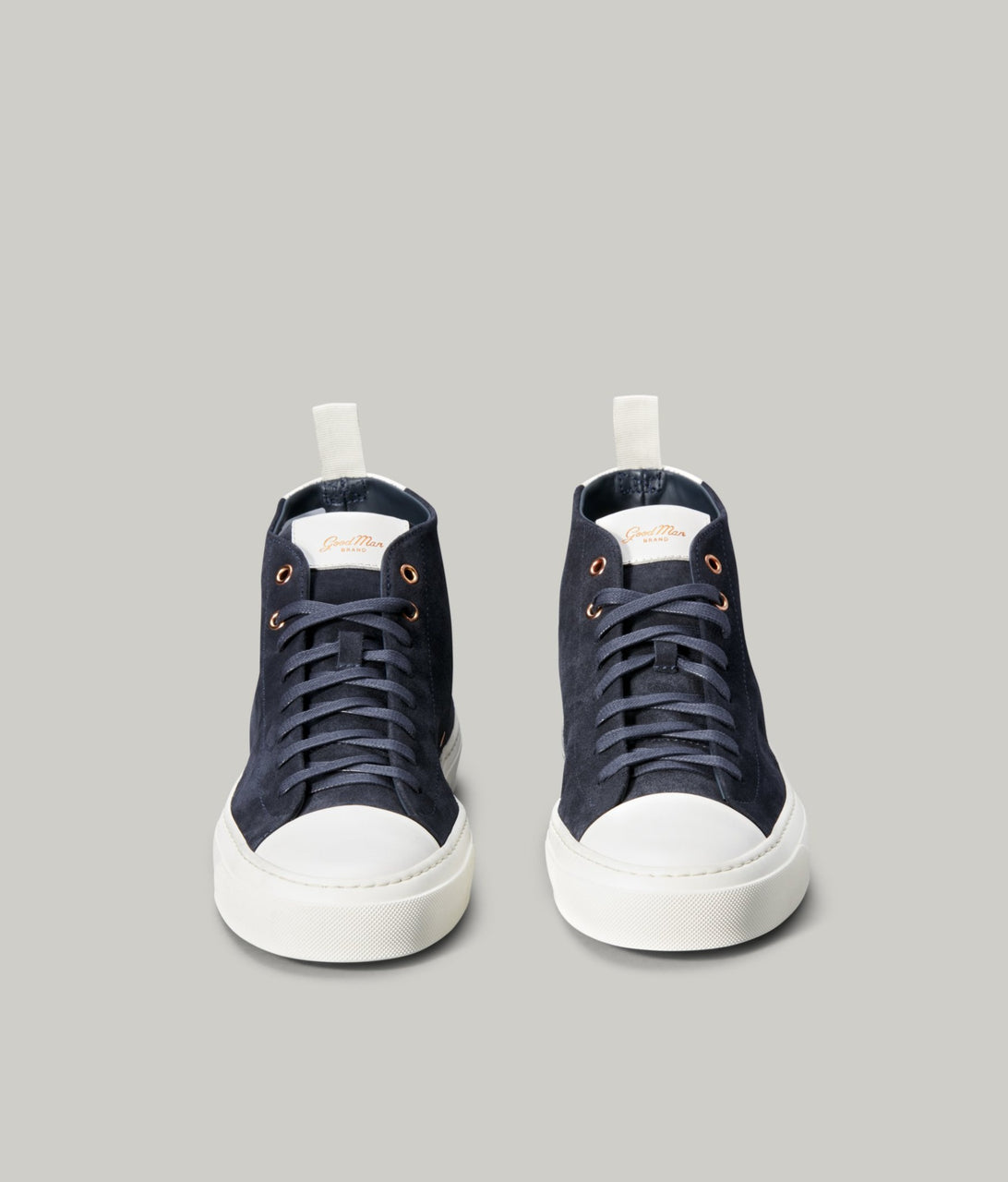 Legacy Hi-Top Sneaker - Navy/Cream - Good Man Brand - Legacy Hi-Top Sneaker - Navy/Cream