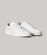 Legend London Sneaker in Pebble Leather - White Pebble