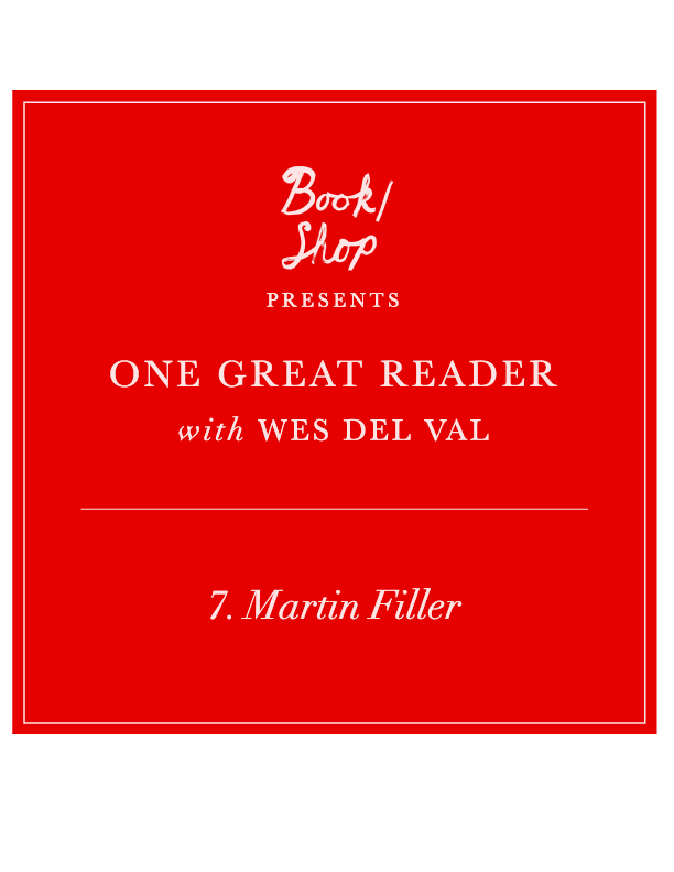 One Great Reader No. 7: Martin Filler