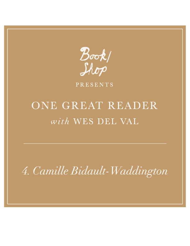 One Great Reader no. 4: Camille Bidault-Waddington